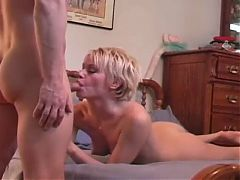 Queen of Late Night Beverly Lynne – hardcore blowjob and fuck